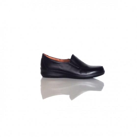 botas bajo zapatos zapatos zapatos bajo 3.5 cm negro elegantes como piel 9284 5d7ff3