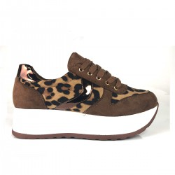 SNEAKERS LEOPARDO