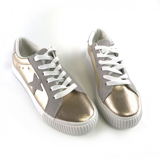 SNEAKERS STAR GOLD