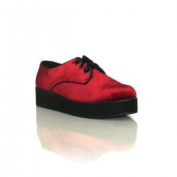 Zapato masculino terciopelo